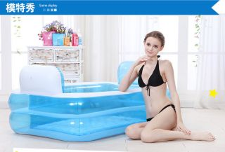 Fashion Adult &children Inflatable Bath Tub With Pump photo