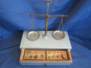 Vintage High - Precision Balance Scale - Made In W.  Germany - photo