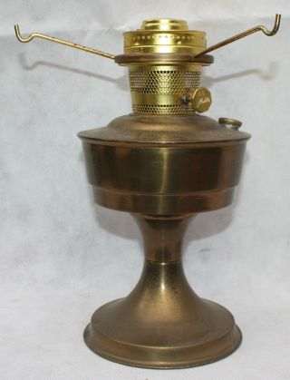 Vintage Aladdin Brass Lamp No.  23 - No Chimney Or Shade - photo