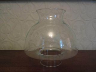 An Old Oil Lamp Shade photo