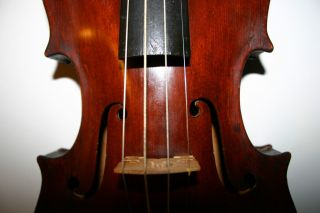Old Antique 4/4 Italian Baroque Violin 1873 Venezia Made With Love For Husband photo