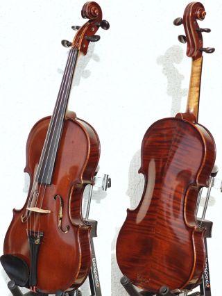 Vintage Czech Violin - Ladislav F.  Prokop,  Chrudim,  1933.  Tone & Build photo