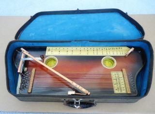 Vintage Hawaiian Tremoloa W Case,  Music Stand,  Sheet Music, photo