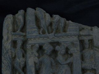 Ancient Large Stone Panel Gandharan 100 Ad photo