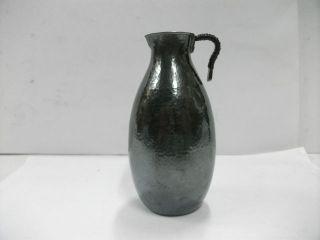 Japanese Sake.  One Silver Decanter.  90g/ 3.  18oz.  A Japanese Antique. photo