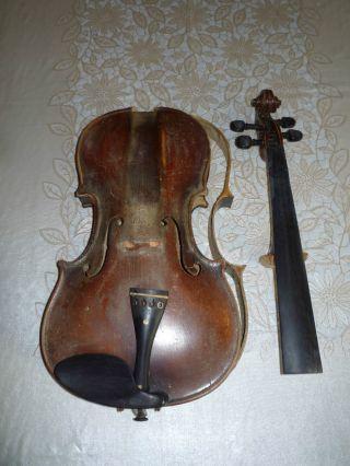 A Fine Old Antique 4/4 Violin Orginal Label photo