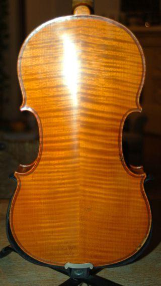 Fine Antique Handmade German 4/4 Fullsize Violin - 1920 ' S photo