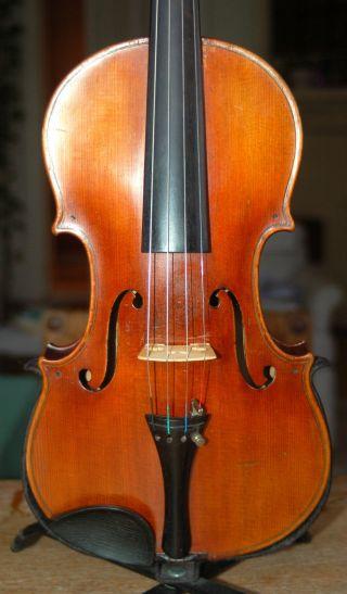 Fine Antique Handmade 4/4 Master Violin - Label J.  B.  Vuillaume A Paris - 1900 ' S photo