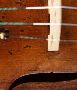 200,  Years Old French 4/4 Violin Violon Geige Lab.  : N.  Lupot 18 (94?) photo