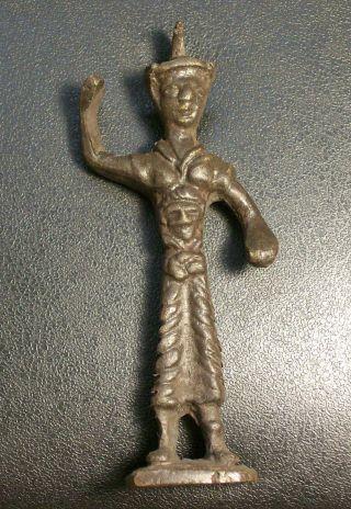 Reproduction Ancient Trojan War Thracian Warrior 12 Century Bc Figurine Figure photo