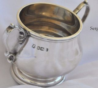 Antique 925 Sterling Silver Cup/bowl Hallmarked Birmingham England Vintage photo
