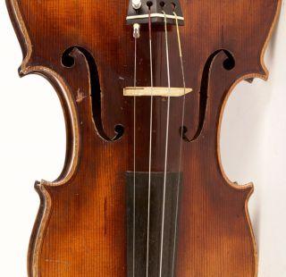Old 4/4 Violin Label G.  Pollastri 1926 Geige Violon photo