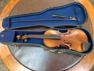 Antique Antonius Stradiuarius Conservatory Violin 1722 Germany photo