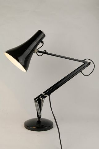 Vintage Herbert Terry & Sons Anglepoise Model 90 Lamp In Black - Made In England photo