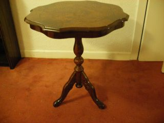 Retro Reproduction Antique Occasional Wine Table Stunning Bargain photo