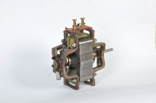 Antique Early Electric Motor /dynamo photo