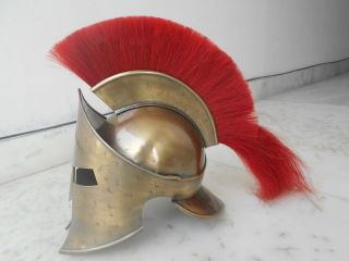 300 Medieval King Roman Leonidas Spartan Helmet Movie Roman Pros Olfd Antiques4 photo