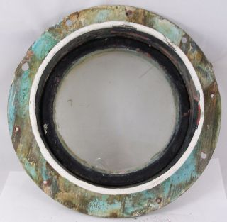 Antique Bronze Porthole,  Salvaged Porthole Nautical 10