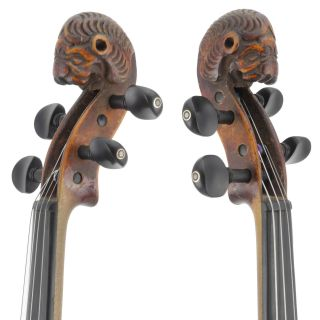 Fine,  Antique 4/4 Old Italian Lion Head Violin photo
