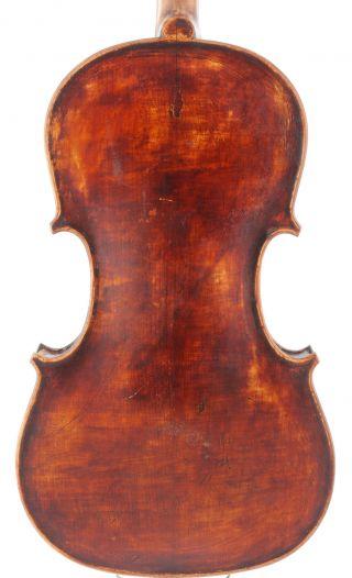 Old,  Rare Italian Antique 4/4 School Violin photo