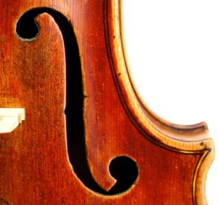 Exceptional Antique 18th Century German Violin - - Ready To Play photo