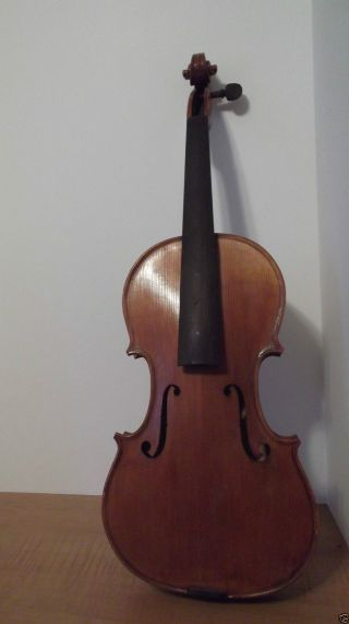 Old Violin Numbered Inside Label Menzel Needs Minor Repair photo