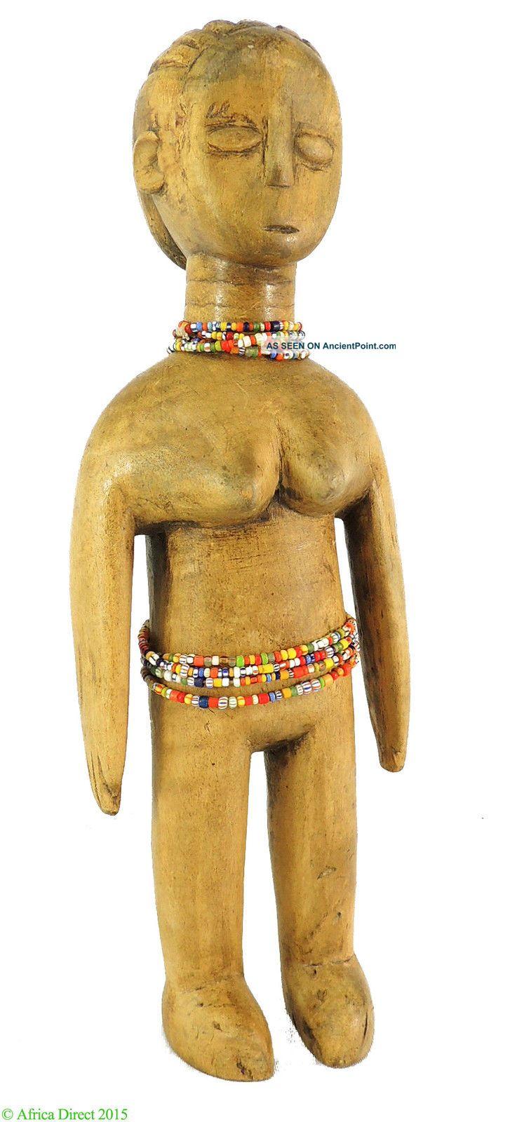 Ewe Doll Venovi Twin Figure Female Togo African Art Was $99 Sculptures & Statues photo