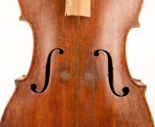 Very Old Cello Ca.  1715 Labeled Testore Violoncello Viola Violin Italian? 大提琴 photo