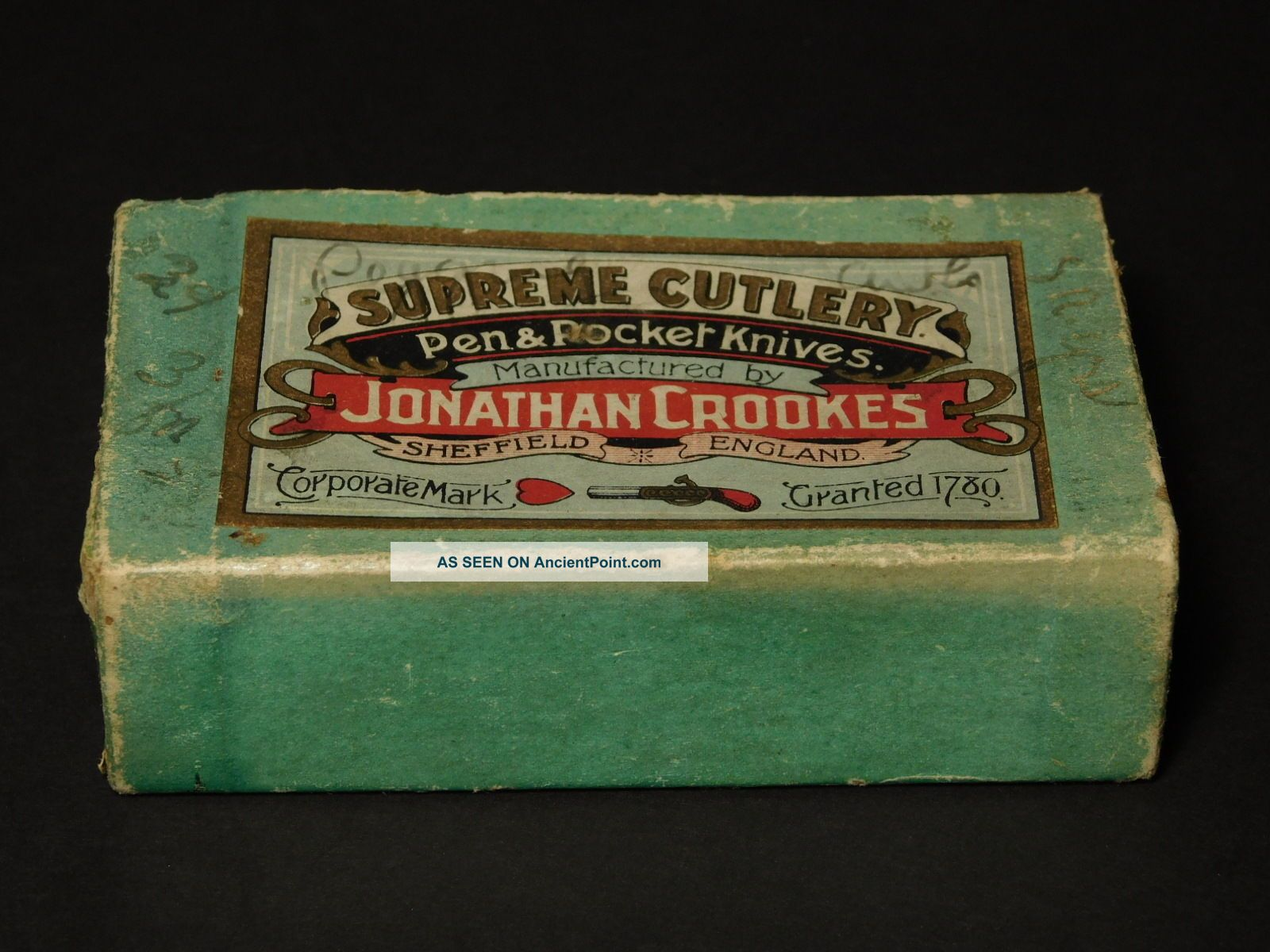 Jonathan Crookes Supreme Cutlery Pen & Pocket Knives Box Of Harness Awls Needles Needles & Cases photo