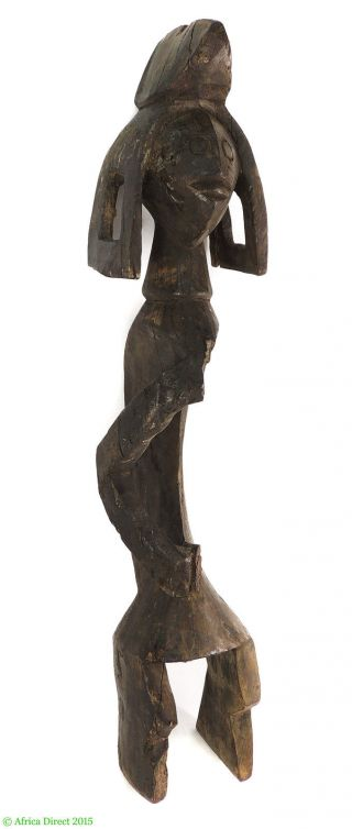 Mumuye Figure Nigeria Africa 24 Inches African Art Was $125 photo