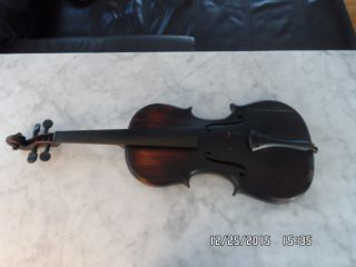 Antique Russian Style Violin