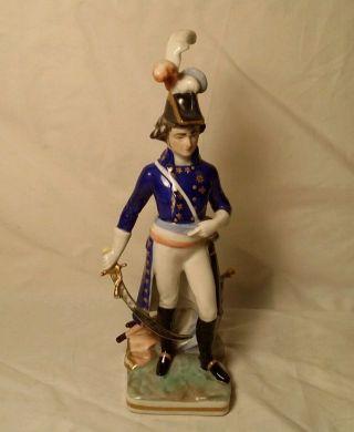 Rare 1940 ' S Frankenthal Wessel Franx Revolution General 1789 Porcelain Figurine photo