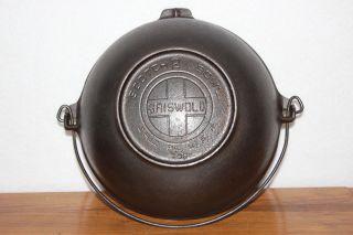 Vintage Griswold (large Logo) Size 2 Scotch Bowl P/n 780 Cast Iron Cookware photo