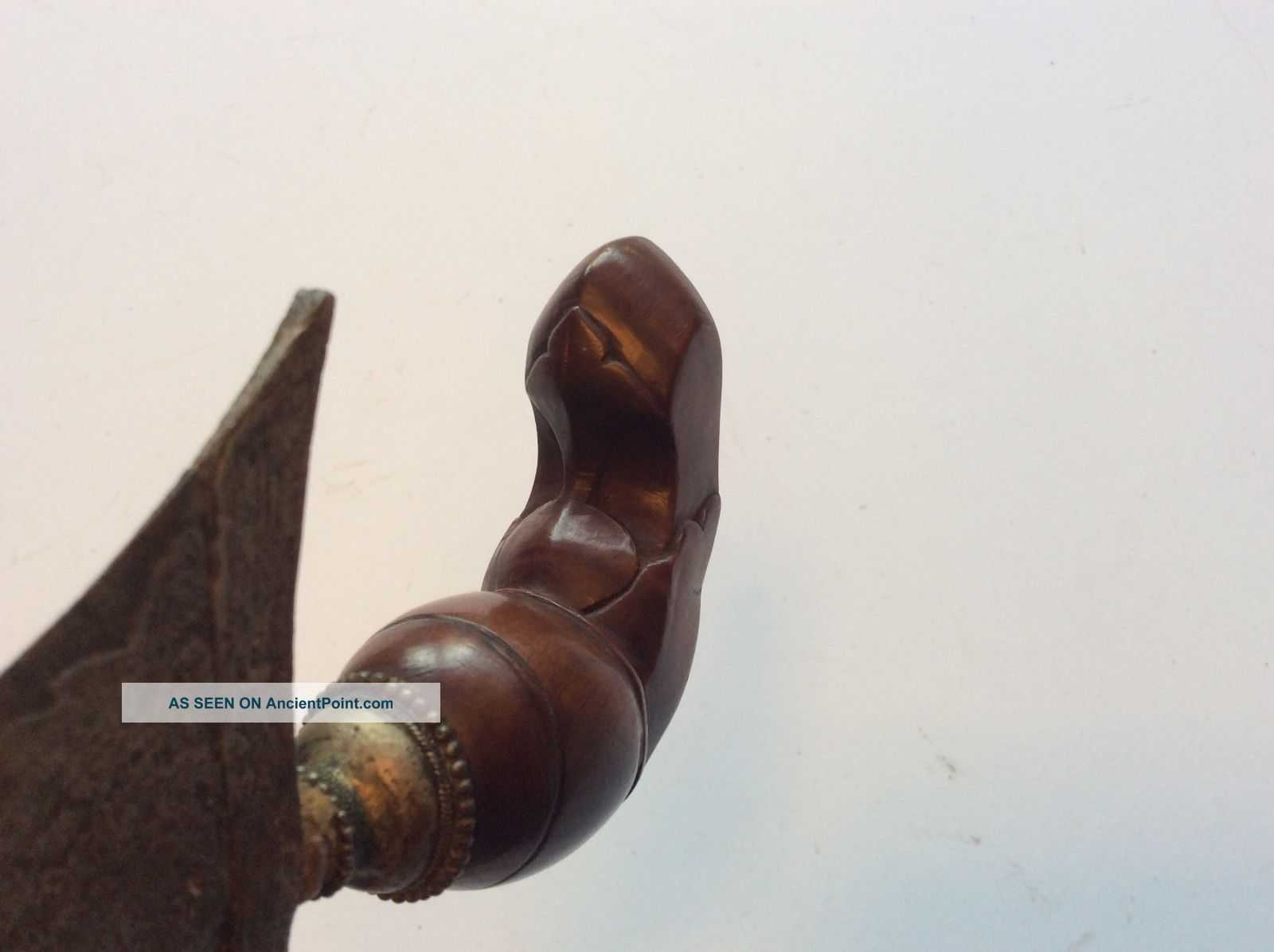 Old Antique Indonesian Sumatran Keris Kris Dagger Sword Unusual Handle Pacific Islands & Oceania photo