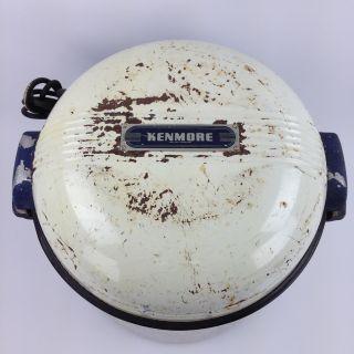Vintage Kenmore Portable Electric Washing Machine W/ Agitator 305.  7332 photo