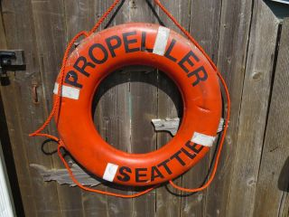 30 Inch Life Preserver Ring Saver Float Buoy Bouy (63) photo