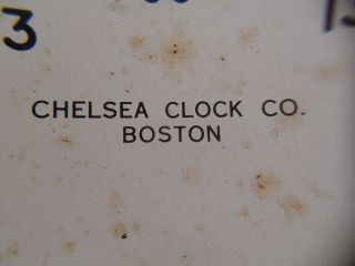 Vintage Chelsea Ships ' Marine Clock Dial 24 Hour Time Us Government 6