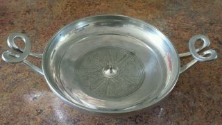 Gorham Metropolitan Museum Of Art Silverplate Greek Kylix Wine Bowl photo