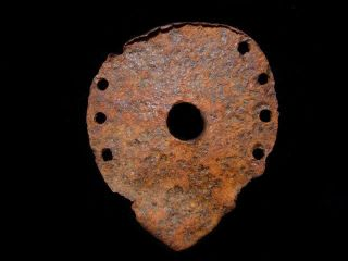 Very Rare Huge Roman Period Iron Horse Shoe,  Well Preserved, photo