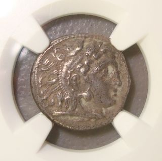 323 - 317 Bc Macedon Philip Iii Arrhidaeus Ancient Greek Silver Drachm Ngc Xf photo