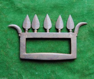 Antique Rare Mughal Maratha Sikh Baghnakh Steel Bichawa Dagger No Shamshir photo
