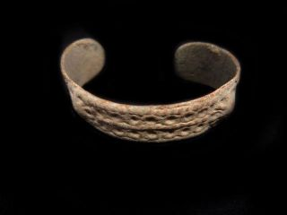 Fascinating Antique 1500 - 1600s.  Fertility Bronze Bracelet, photo