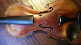 Unlabeled Old Violin Germany photo