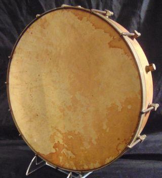 Antique Open Back Banjo Bottom - Head,  Brackets,  Etc Restoration Parts photo