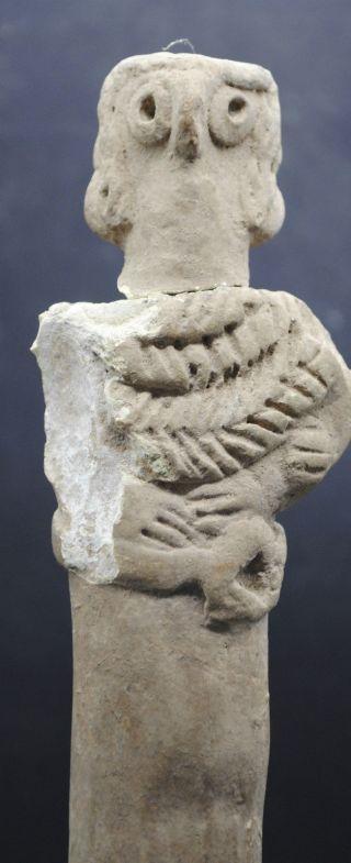 Syro Hittite Pottery Votive Figurine 1200 - 800 Bc - With Good Prov photo