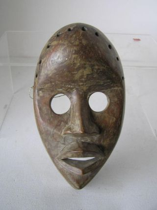 Antique African Dan Tribal Face Mask photo