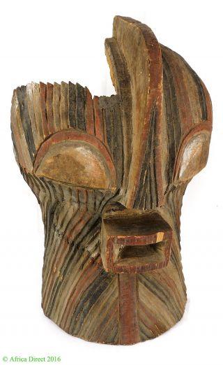 Songye Kifwebe Mask Congo African Art photo
