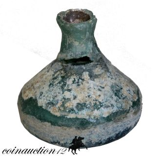 Roman Period Near Eastern Bottle 100 - 300 Ad photo