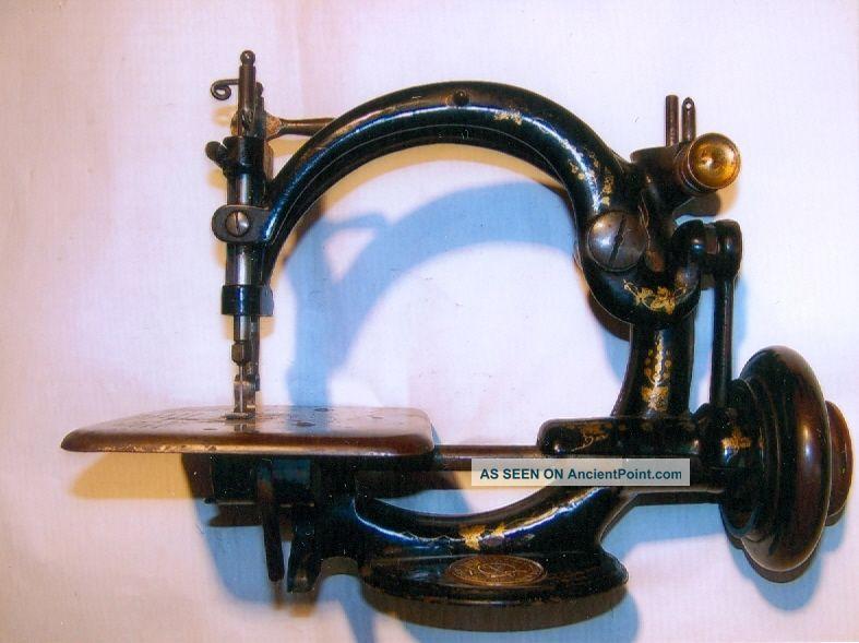 Antique,  Willcox & Gibbs Sewing Machine Co. ,  Lock - Stitch Machine,  C: 1900 Other Antique Sewing photo