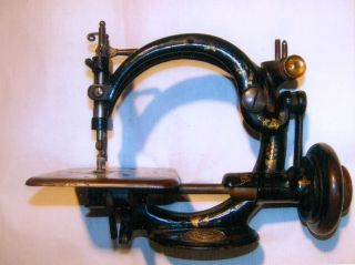 Antique,  Willcox & Gibbs Sewing Machine Co. ,  Lock - Stitch Machine,  C: 1900 photo